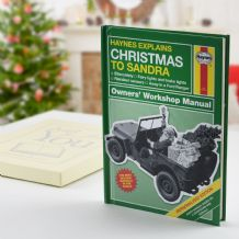 Haynes Explains Christmas - Personalised Book